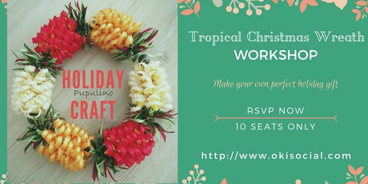 Okinawa Christmas Holiday Craft Workshop