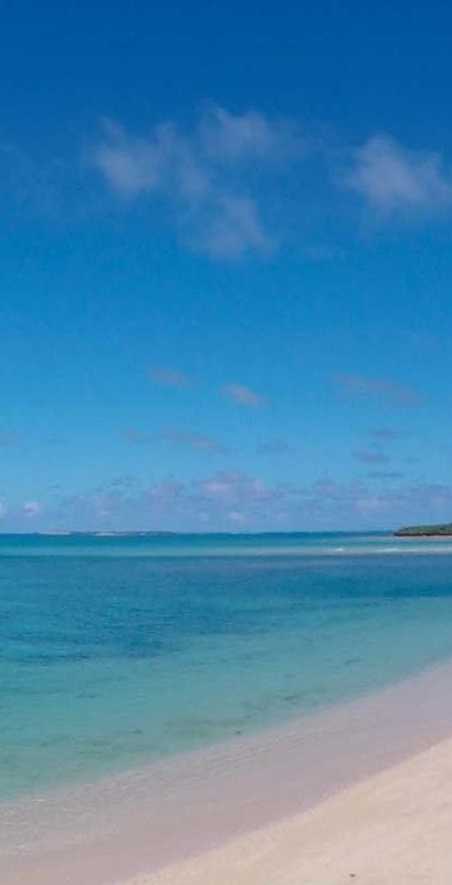 No man's beach of Tsuken Jima