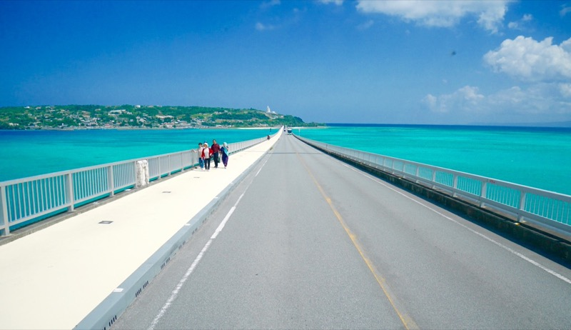 Kouri Bridge Okinawa Japan