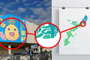 Secret in Okinawa Map #7 The pineapple in Higashi Village
