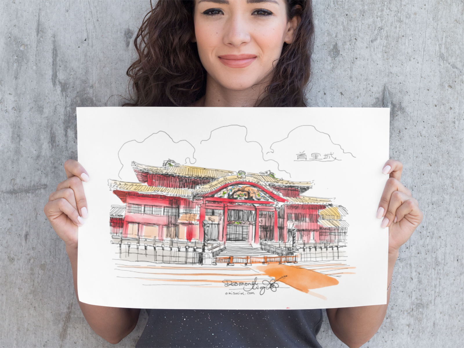 Free Shuri Castle Downloadable Printable Art Print File