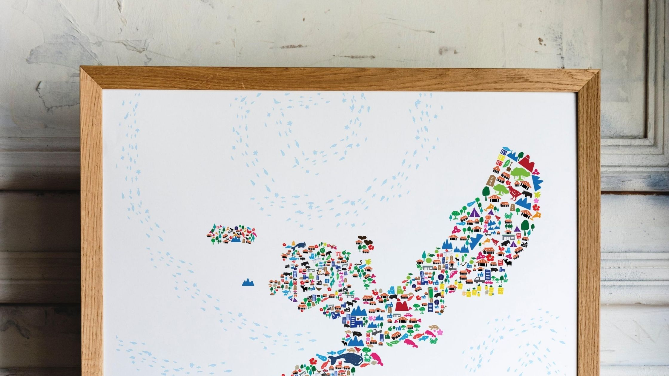 Oki Social original 2020 summer special edition Okinawa Story Map