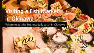 Visiting a Fish Market in Okinawa